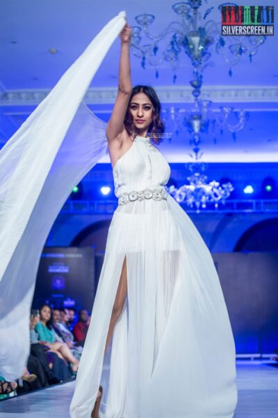 Models Walk The Ramp At The 9th Edition of Chennai International Fashion Week 2019 - Day 2