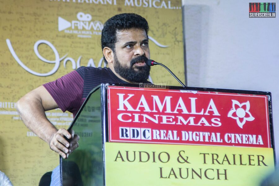 Ameer At The 'Maayanadhi' Audio Launch