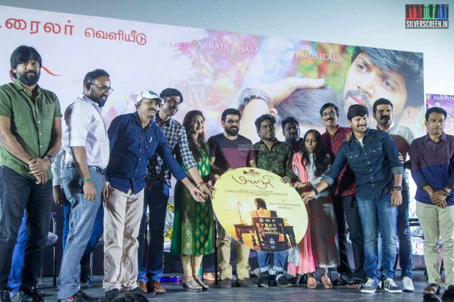 Celebrities At The 'Maayanadhi' Audio Launch