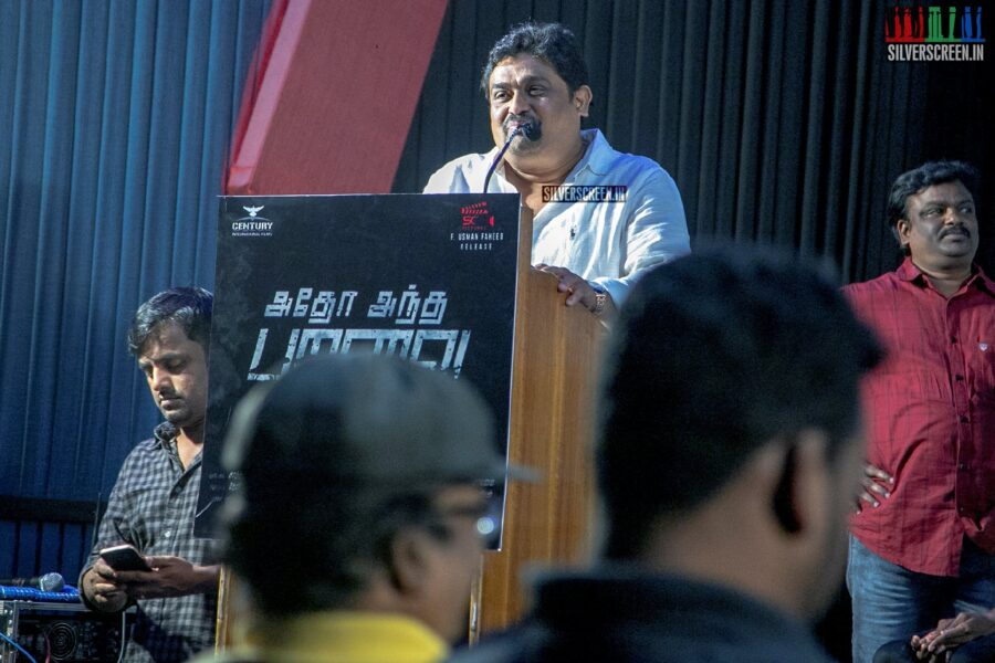 Celebrities At The 'Adho Andha Paravai Pola' Press Meet