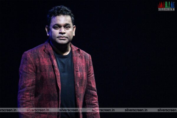 AR Rahman At The Launch Of 'Ta-Futures'