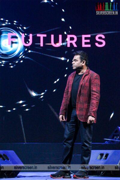 AR Rahman At The Launch Of 'Ta-Futures'