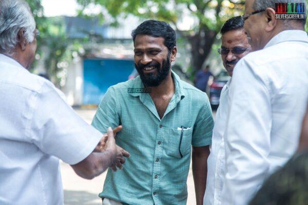 Vetrimaaran At The 'Asuran' Success Meet