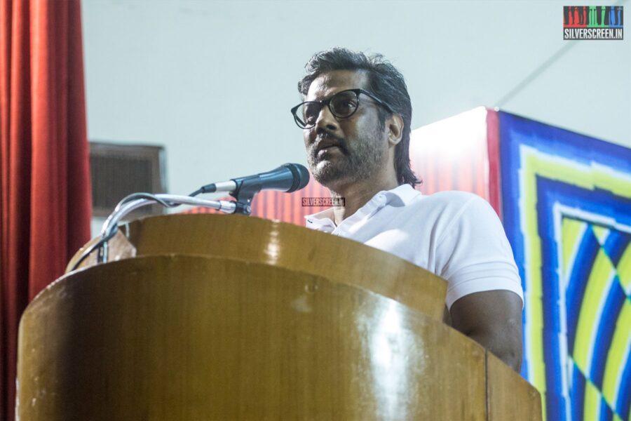 Celebrities At The 'Asuran' Success Meet