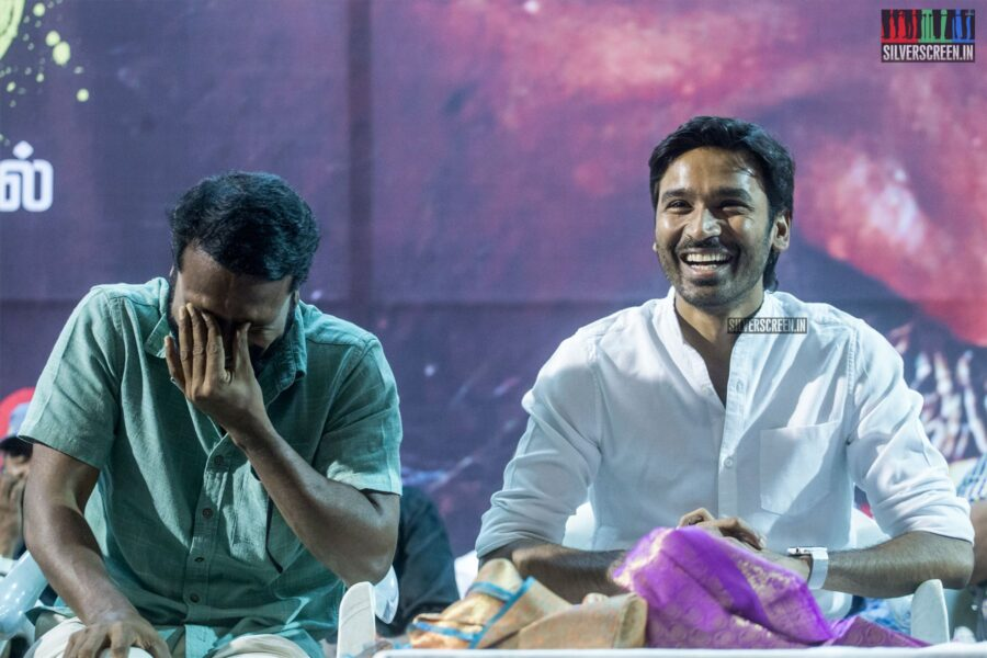 Dhanush, Vetrimaaran At The 'Asuran' Success Meet