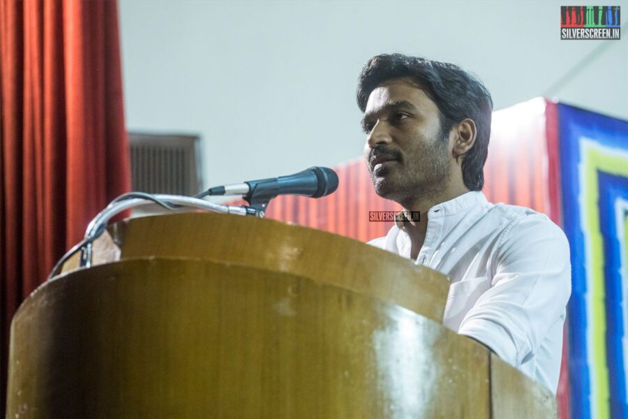 Dhanush At The 'Asuran' Success Meet