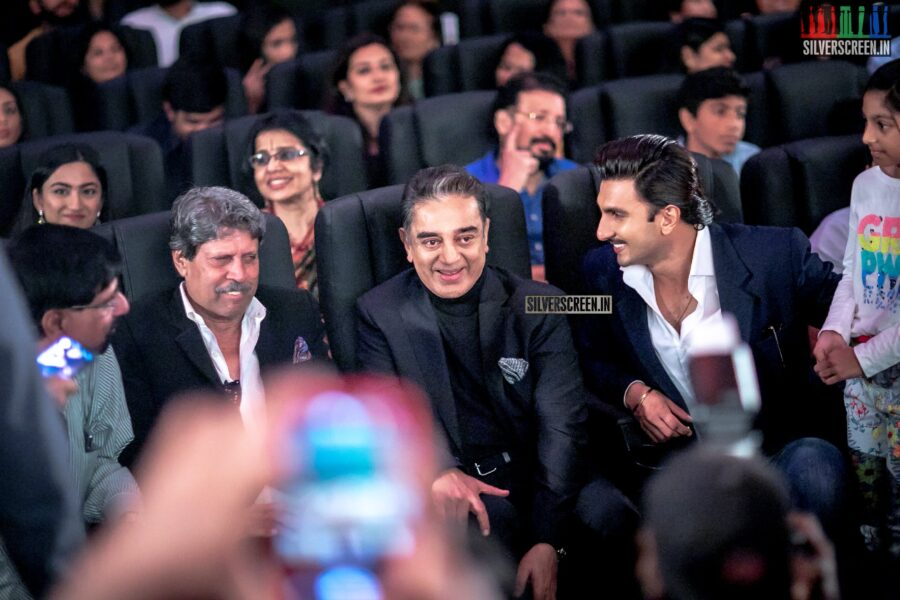 Kamal Haasan and Ranveer Singh At The First Look Launch Of '83'