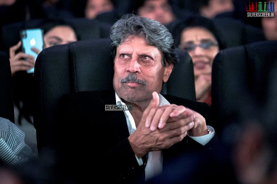 Kapil Dev At The Launch Of '83' First Look