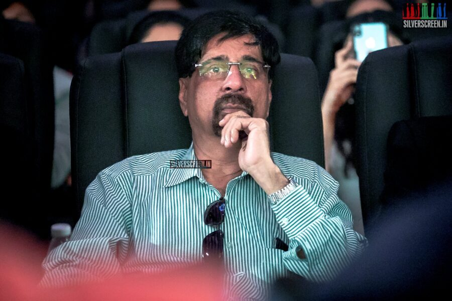 Krishnamachari Srikkanth At The First Look Launch Of '83'