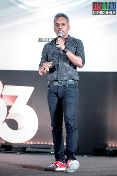 Celebrities At The First Look Launch Of '83'