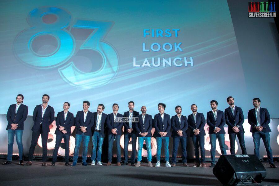 Kamal Haasan, Ranveer Singh, Jiiva, Kapil Dev At The First Look Launch Of '83'