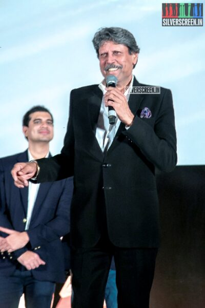 Kapil Dev At The First Look Launch Of '83'