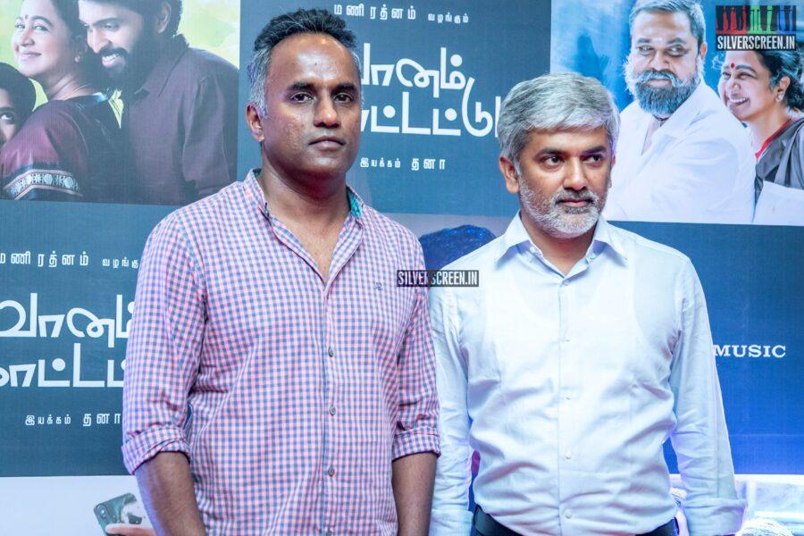 Celebrities At The 'Vaanam Kottatum' Audio Launch