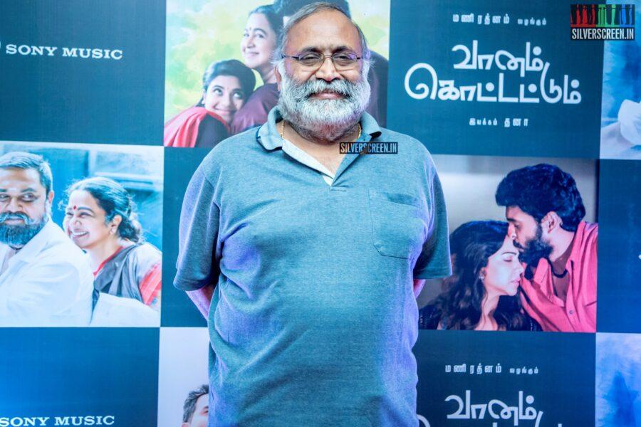 Balaji Sakthivel At The 'Vaanam Kottatum' Audio Launch