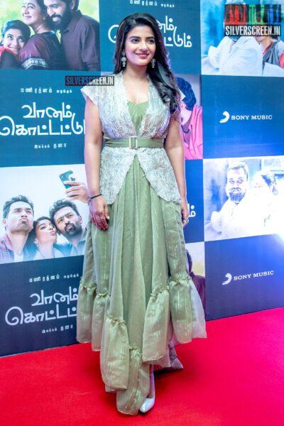 Aishwarya Rajesh At The 'Vaanam Kottatum' Audio Launch