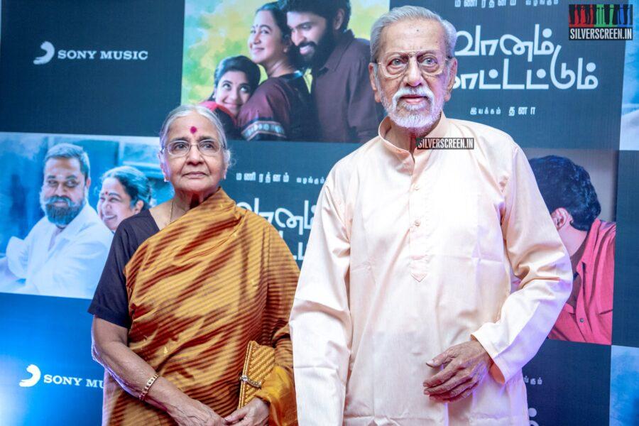 Charuhasan At The 'Vaanam Kottatum' Audio Launch