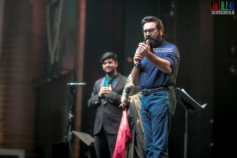 R Sarath Kumar At The 'Vaanam Kottatum' Audio Launch