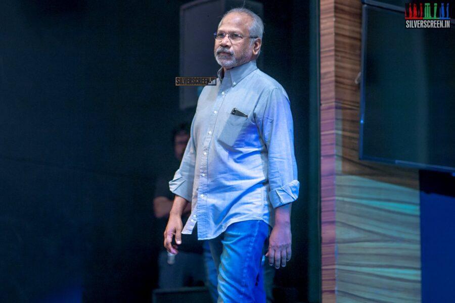 Mani Ratnam At The 'Vaanam Kottatum' Audio Launch