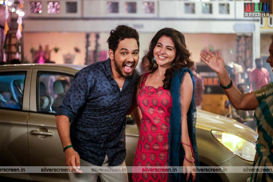 Naan Sirithal Movie Stills Starring Hiphop Tamizha, Iswarya Menon