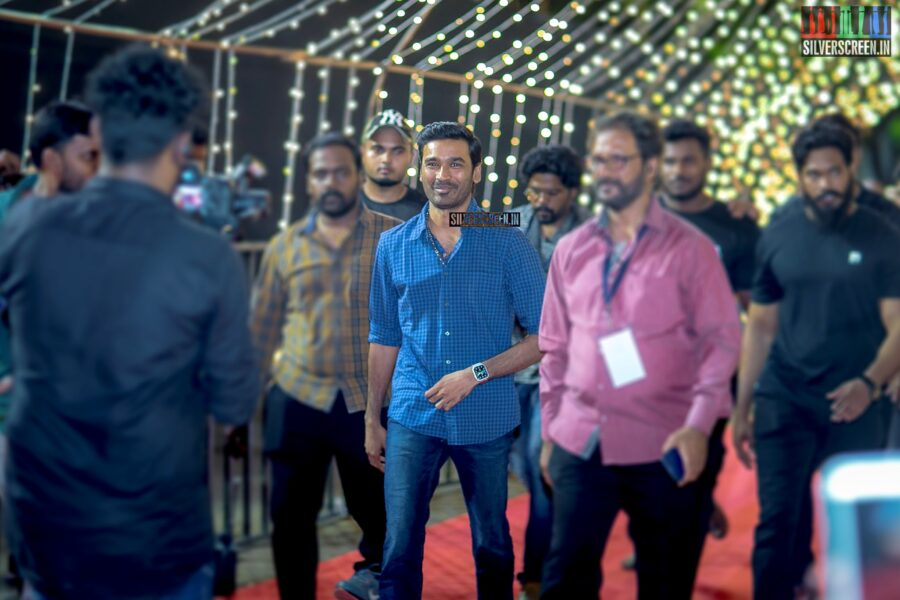 Dhanush at The 'Zee Cine Awards'