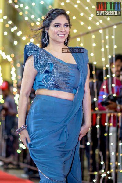 Sherin  at The 'Zee Cine Awards'