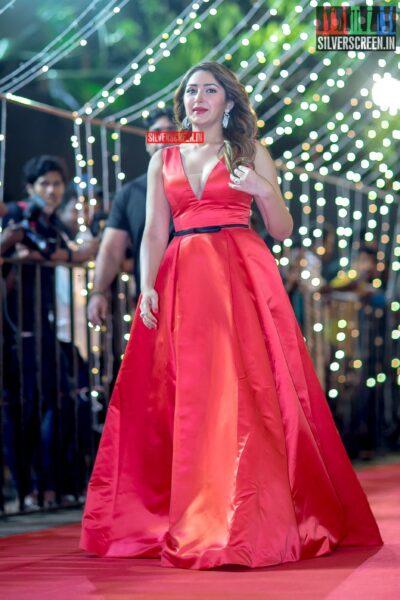 Sayyeesha at The 'Zee Cine Awards'