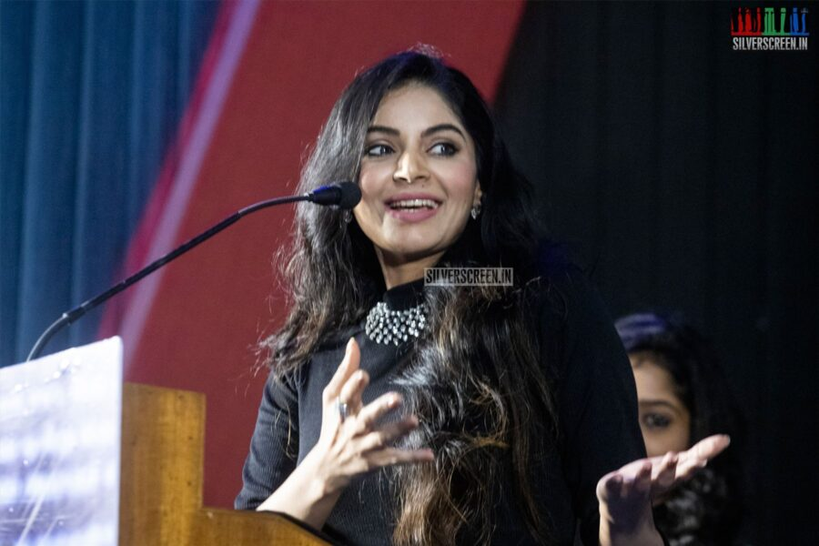 Sanam Shetty At The 'Walter' Audio Launch