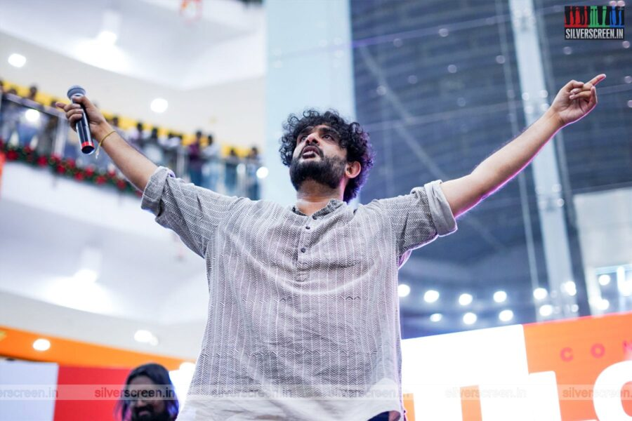 Sid Sriram Promotes 'All Love No Hate' Live In Concert in Chennai