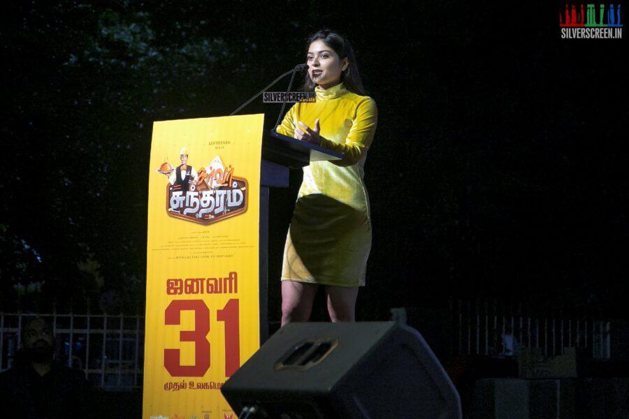 Vaibhavi Shandilya At The 'Server Sundaram' Press Meet