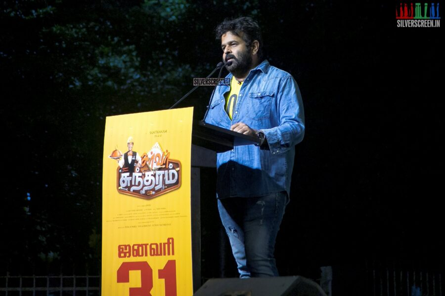 Celebrities At The 'Server Sundaram' Press Meet