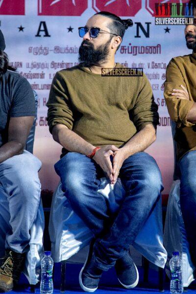 Vaibhav, Nandita Swetha At The 'Taana' Audio Launch