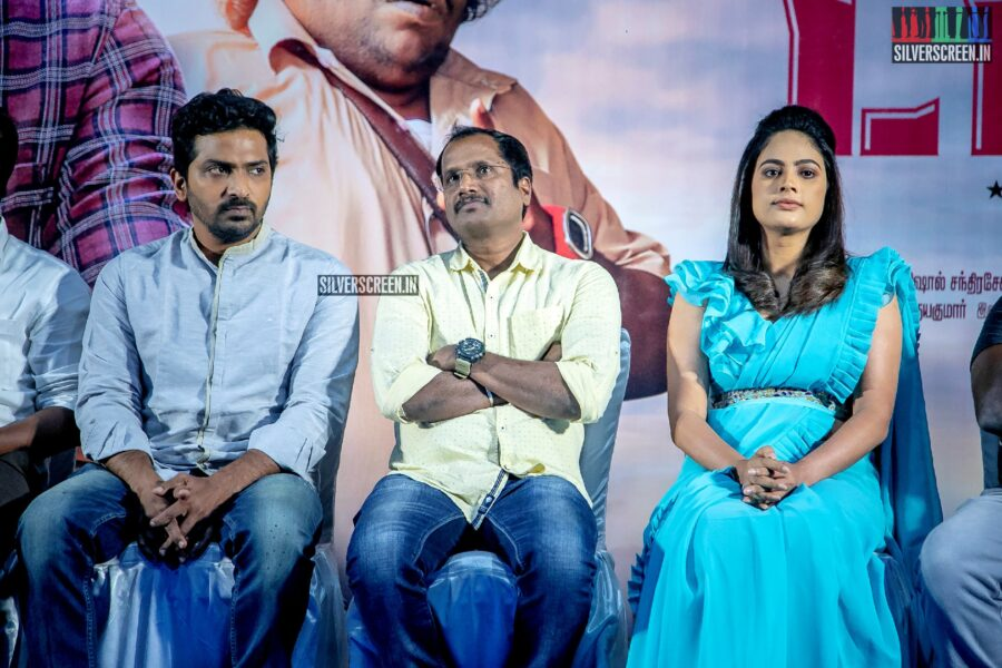 Vaibhav, Nandita Swetha At The 'Taana' Audio Launch