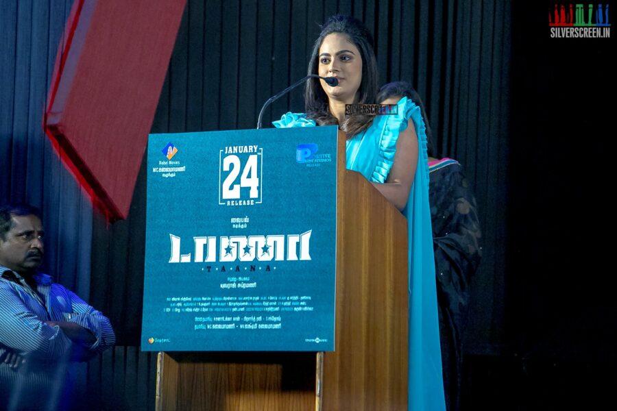 Nandita Swetha At The 'Taana' Audio Launch