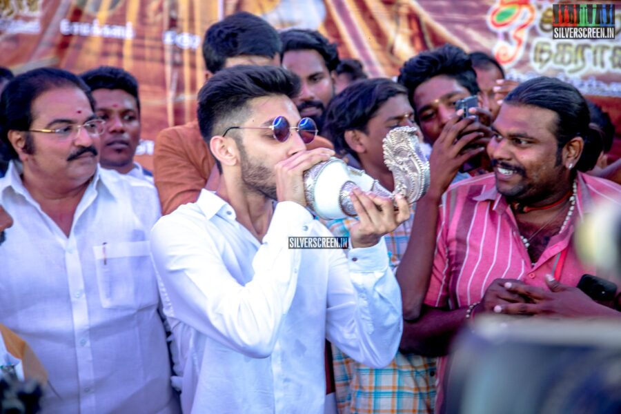 Anirudh Ravichander At The Launch of 'Village Ticket 2020'