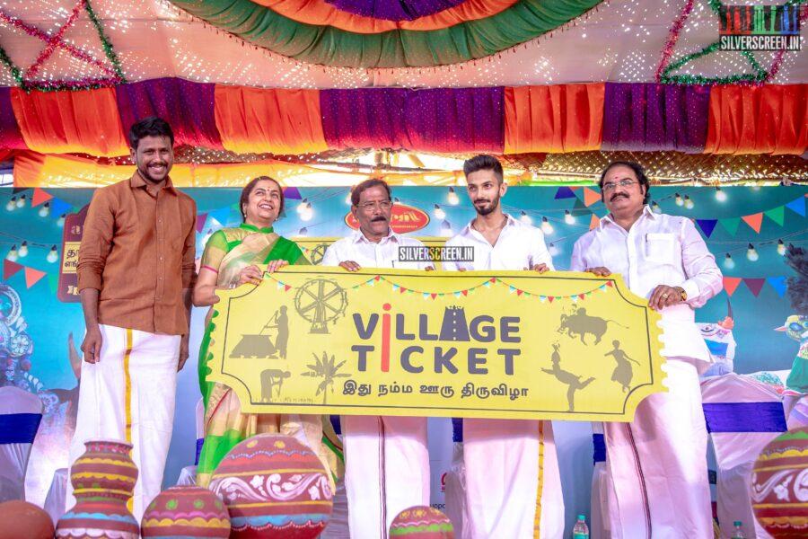 Anirudh Ravichander, Suhasini Mani Ratnam At The Launch of 'Village Ticket 2020'