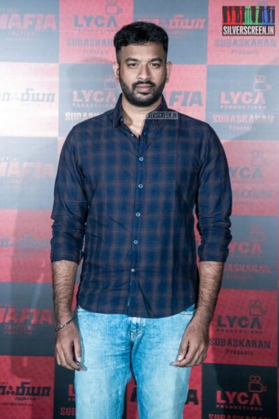 Vivek At The 'Mafia' Press Meet