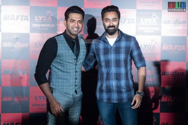 Arun Vijay, Prasanna At The 'Mafia' Press Meet