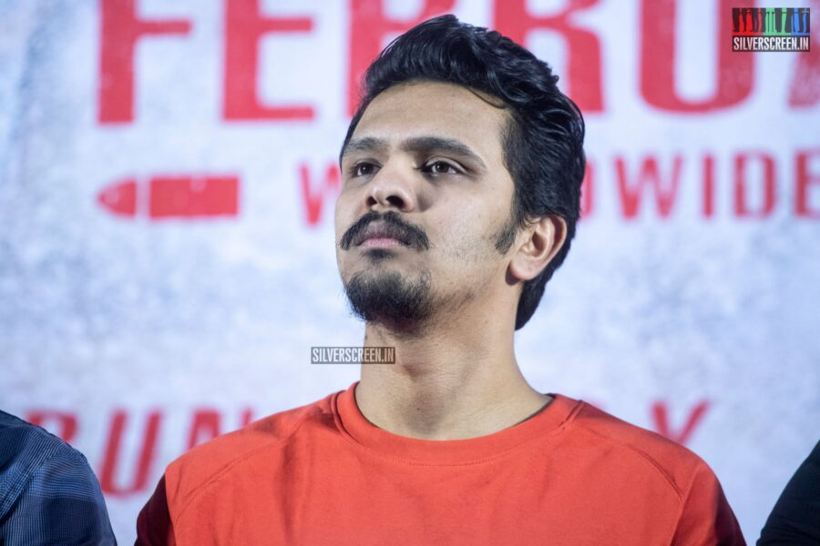 Karthick Naren At The 'Mafia' Press Meet