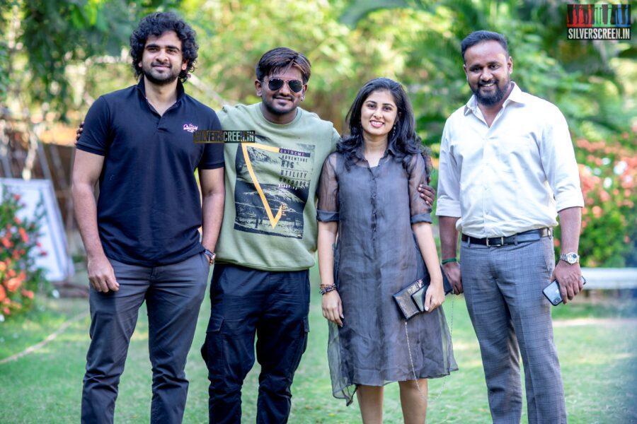 Ashok Selvan and Ashwath Marimuthu At The 'Oh My Kadavule' Press Meet