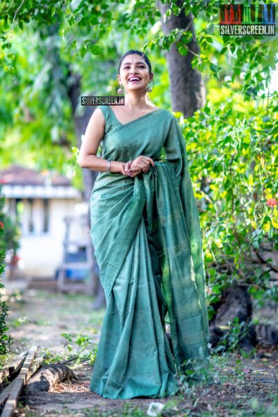 Abinaya Selvam At The 'Oh My Kadavule' Press Meet