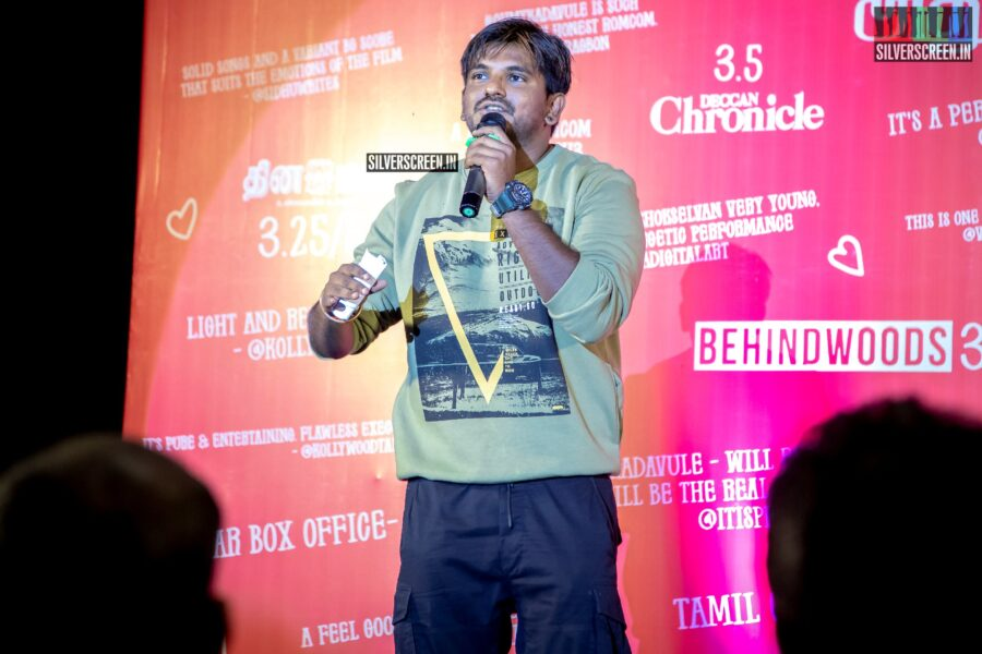 Ashwath Marimuthu At The 'Oh My Kadavule' Press Meet