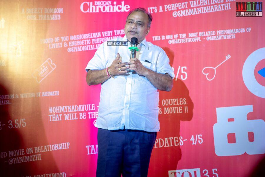 Celebrities At The 'Oh My Kadavule' Press Meet