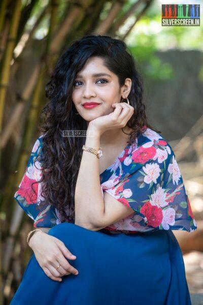 Ritika Singh At The 'Oh My Kadavule' Press Meet