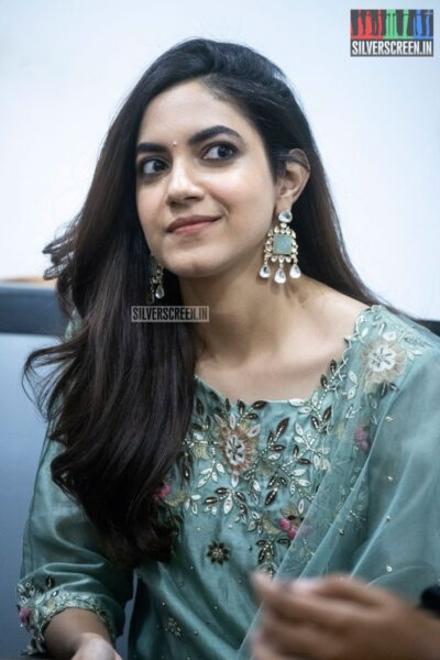 Ritu Varma At The 'Kannum Kannum Kollaiyadithaal' Press Meet