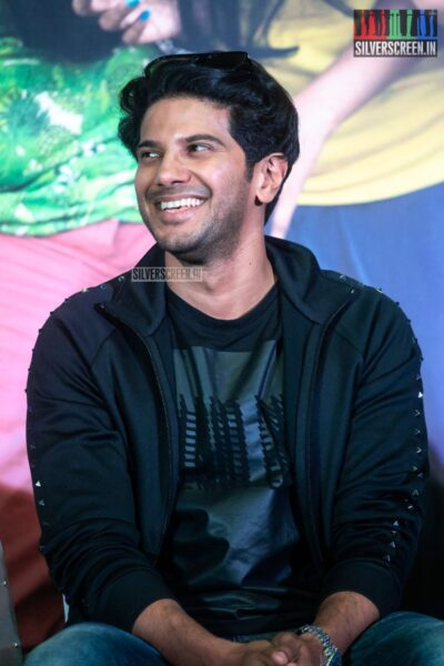Dulquer Salmaan At The 'Kannum Kannum Kollaiyadithaal' Press Meet