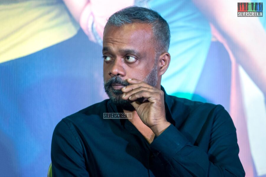Gautham Menon At The 'Kannum Kannum Kollaiyadithaal' Press Meet