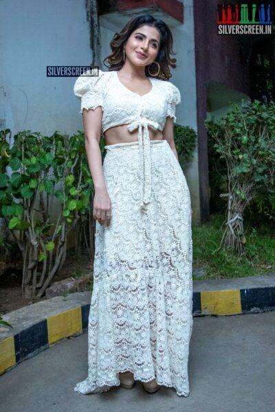 Iswarya Menon At The 'Naan Sirithal' Success Meet