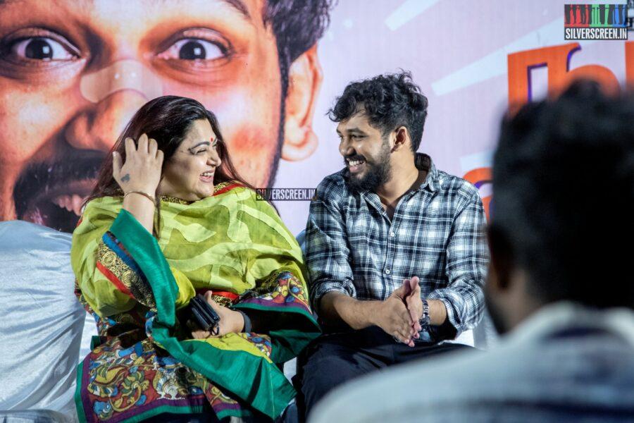 Hiphop Tamizha Aadhi, Kushboo At The 'Naan Sirithal' Success Meet