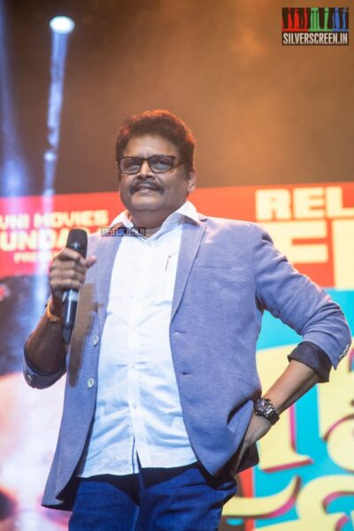 KS Ravikumar At The 'Naan Sirithal' Audio Launch