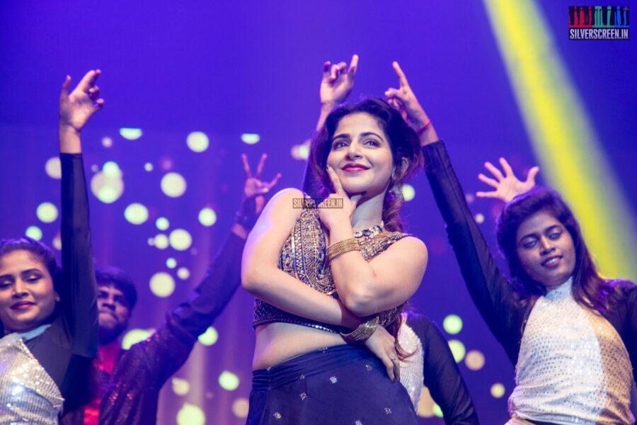 Iswarya Menon At The 'Naan Sirithal' Audio Launch